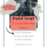 Digital Escape | Comprehensible French Activities | Halloween