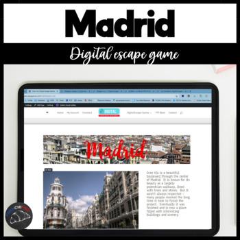 Digital Escape Game - Madrid