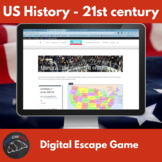 Digital Escape Game - US history, early 21st century