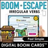 Past Tense Irregular Verb BOOM CARDS™ – Digital Escape
