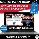 Digital Escape Room | 6th Grade Ratios and Proportions | D