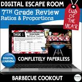 Digital Escape Room | 7th Grade Ratios and Proportions | D
