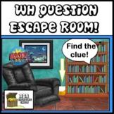 Digital Escape Room BOOM Deck WH Questions