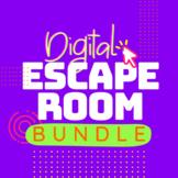 Digital Escape Room BUNDLE | Distance Learning