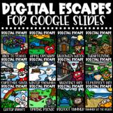 Digital Escape Room BUNDLE Holidays