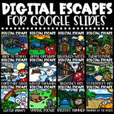 Digital Escape Room BUNDLE Holidays