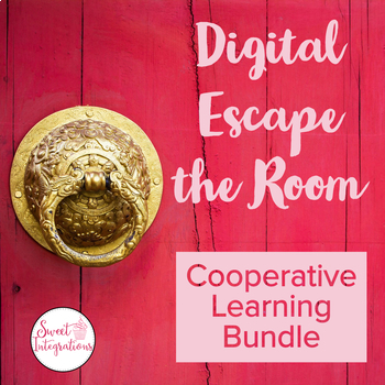 Digital Escape the Room Bundle | Cooperative Learning