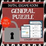 Digital Escape Room: Concert Caper (General Puzzle- EASY)