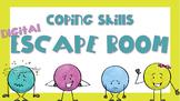 Digital Escape Room: Coping Skills [Interactive Google Slides]