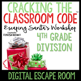 Digital Escape Room 4th Grade Christmas Math Distance Learning
