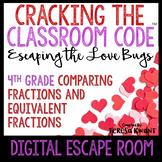 Digital Escape Room 4th Grade Valentine's Day Math