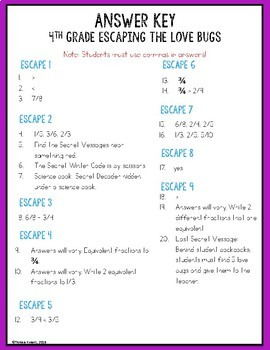 Digital Escape Room Cracking the Classroom Code® 5th Grade Valentine's Day Math