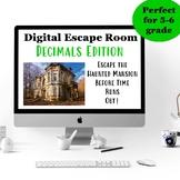 Digital Escape Room: Decimals Edition