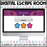 Addition and Subtraction Digital Escape Room