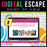 Digital Escape Room ELA   Point of View   Perspective   Mu