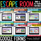 Digital Escape Room End of the Year Bundle | Distance Lear