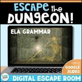Digital Escape Room: Escape the Dungeon! ELA Breakout Activity