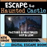 Digital Escape Room: Escape the Haunted Castle! Math Breakout Activity