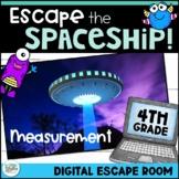 Measurement Digital Escape Room - Escape the Spaceship! Distance Learning