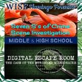 Digital Escape Room Forensics 7S's Crime Scene Investigati