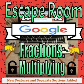 Digital Escape Room-Fractions: Multiplying on Google Forms