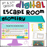 Math Digital Escape Room for Distance Learning: Geometry