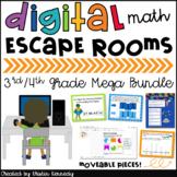 Digital Escape Room Growing Bundle Distance Learning