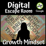 Growth Mindset Digital Escape Room - and The Power of Yet | Distance Learning