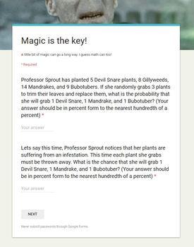 Digital Escape Room -- Harry Potter Themed
