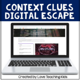 Context Clues Digital Escape Room Google Classroom Activities