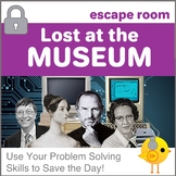 Digital Escape Room - Lost at the Museum! | Distance Learning
