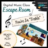 "Digital Escape Room (MUSIC)   ""You're in Treble""   Ready t"