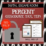 Digital Escape Room: Mall Mix-Up (Percent, Discount, Markup, 7.RP.3)