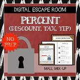 Digital Escape Room: Mall Mix-Up (Percent, Discount, Marku