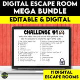 Full Year Digital Escape Room Mega Bundle | Distance Learning