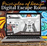 Visual Art Digital Escape Room -  Principles of Design Esc
