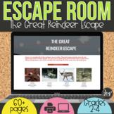 Digital Escape Room   Reindeer   Christmas Digital