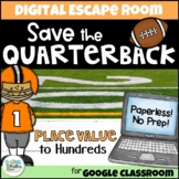 Distance Learning: Place Value Digital Escape Room - Save