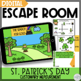 Digital Escape Room Math: St. Patrick's Day