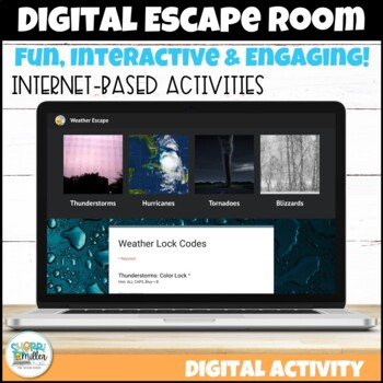Digital Escape Room: Storm Chasers Escape! Weather ...