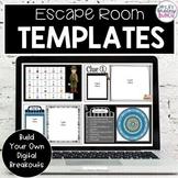 Digital Escape Room Templates | Google Apps