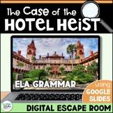 ELA Digital Escape Room - The Case of the Hotel Heist! Dis