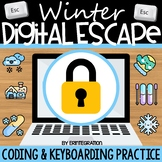 Digital Escape Room: Winter Keyboarding & Coding (Includes