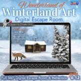 Digital Escape Room - Winterland Art Digital Escape - JMW