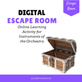 Digital Escape Room for Distance Learning {Instruments of