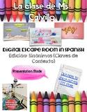 Digital Escape Room in Spanish Sinónimos (Claves de Contexto)