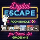 *Digital Escape Rooms Bundle - 360 degree Visual Art Digit