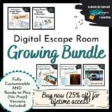 Digital Escape Rooms - GROWING BUNDLE!