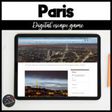 Digital Escape game - Paris