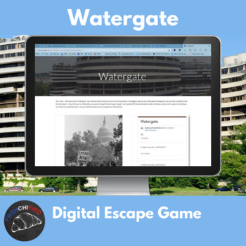 Digital Escape game - Watergate